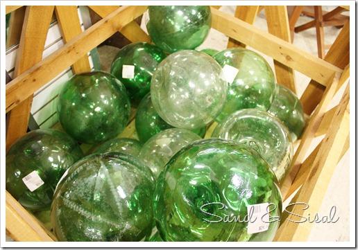 glass bouys