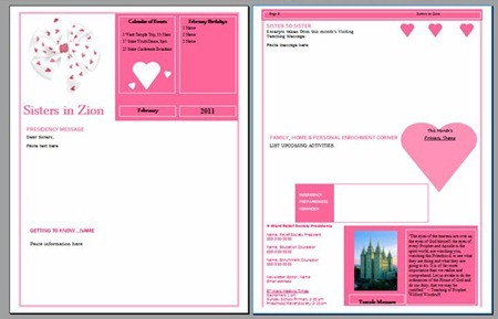 RS-February-Calendar3 January Newsletter Template Printables on november school, dr. seuss, free teacher, for teacher,