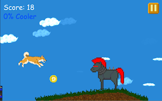 Screenshot of Doge Run