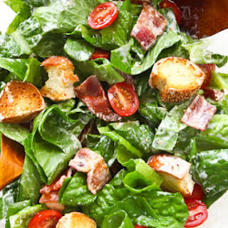 BLT Salad with Buttermilk Dressing.