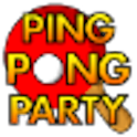 Ping Pong Party  A logo