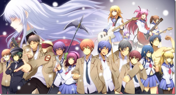 personajes de Angel Beats!