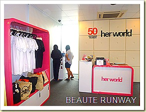Her world glass house 50th clothes