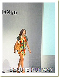 Mango Spring Summer Collection at Audi Fashion Festival 08