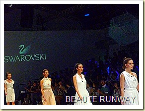 Swarovski at Audi Fashion Festival Jayson Brunsdon Dress 31