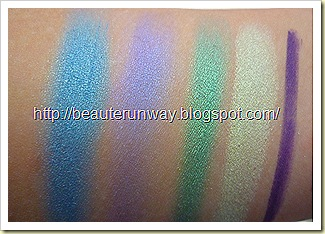 Pupa 4 eyes multipurpose rock pop swatches