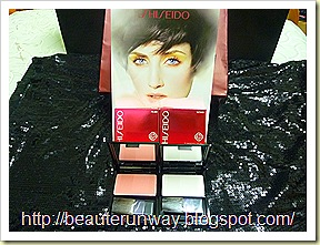 Shiseido spring luminizing FACE colour