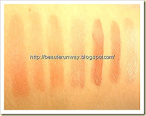 maquillage Lasting Perfect Rouge 7 shades