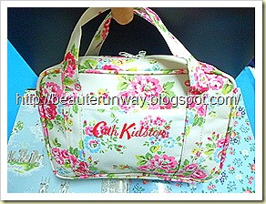 cath kidston carry case close up