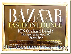 harpers bazaar fashion louge at ion