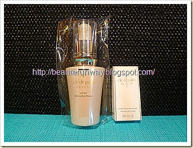 Cle de Peau Beaute Anti-age spot serum and deluze size sample purchase