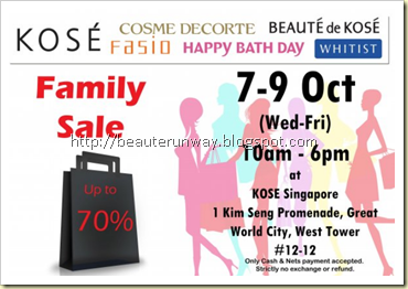 kosefamily sale