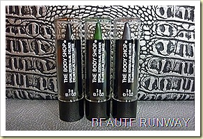 The Body Shop Limited Edition Kajal Eyeliner Autumn Collection 2010
