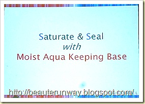 Aqualabel - Saturates Seal