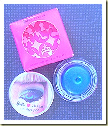 Barbie Loves Stila Smudge Pot Cobalt Clutch