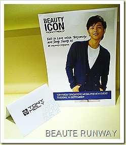 Tony Moly Singapore Media Event