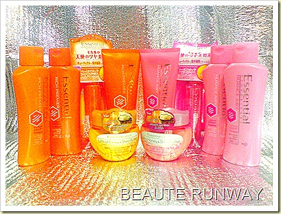 Essential Hair Care Shampoo, Conditioner, treatment, mask and essence
