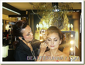 Dior Christmas 2010 Evening Gold 5 colour designer eyes