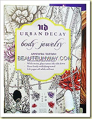 Urban Decay Body Jewelry Art