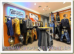 Topman Singapore Knightsbridge