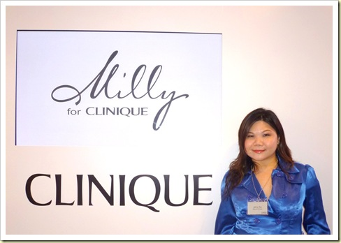 BeauteRunway Milly for Clinique Look 1