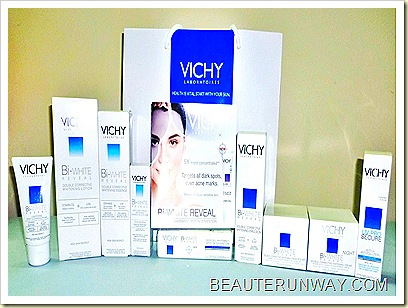 Vichy Skincare Bi-White Reveal Deep Cell-Whitening Spot Intervention and Bi-white skincare range