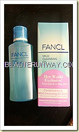 Fancl Mild Cleansing OIl Her World Magazine MPH Promotion