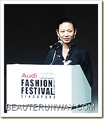 Audi Fashion Festival Director Tjin Lee