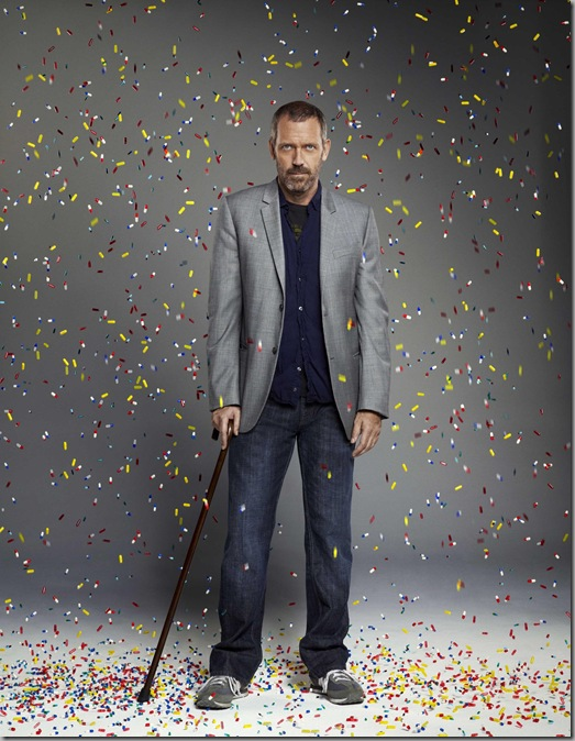 "HOUSE:  Hugh Laurie as Dr. Gregory House in the sixth season of HOUSE  premiering with a two-hour event episode ""Broken"" airing Monday, Sept. 21 (8:00-10:00 PM ET/PT) on FOX. ©2009 Fox Broadcasting Co.  Cr:  George Holz/FOX"