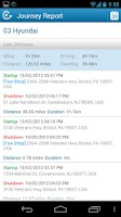 Screenshot of FleetMatics Mobile