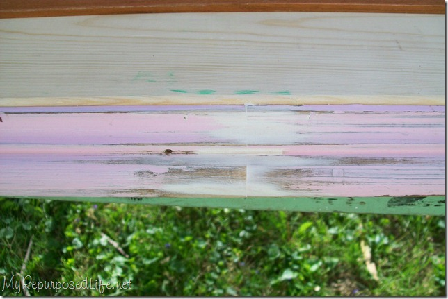 use spackle for patching diy wood shelf