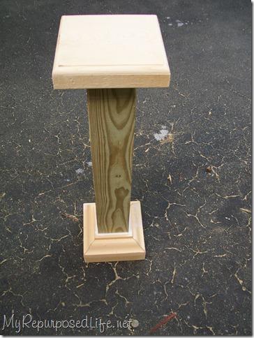 small porch post