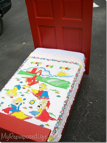 red door toddler bed