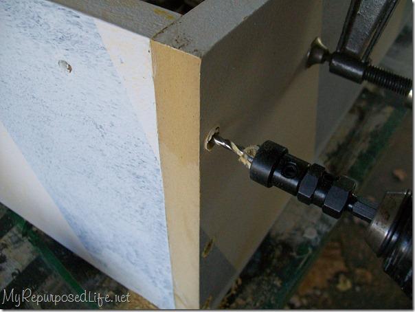 countersink screws
