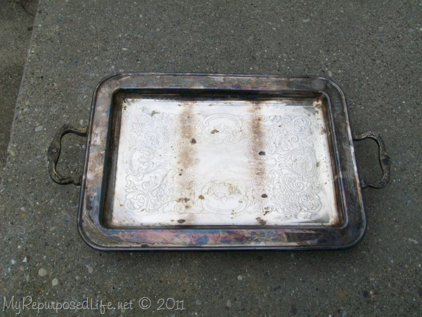 tarnished tray