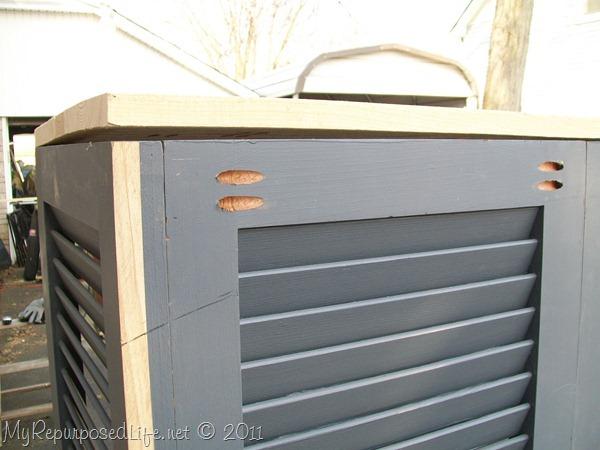 shutters repurposed bookshelf (18)