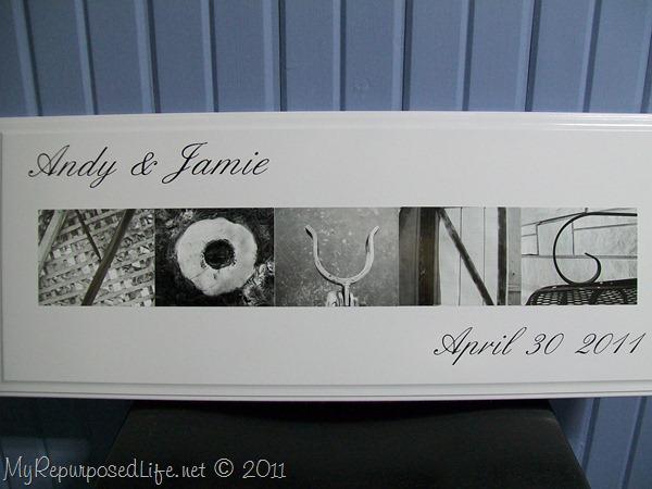 wedding sign custom gift