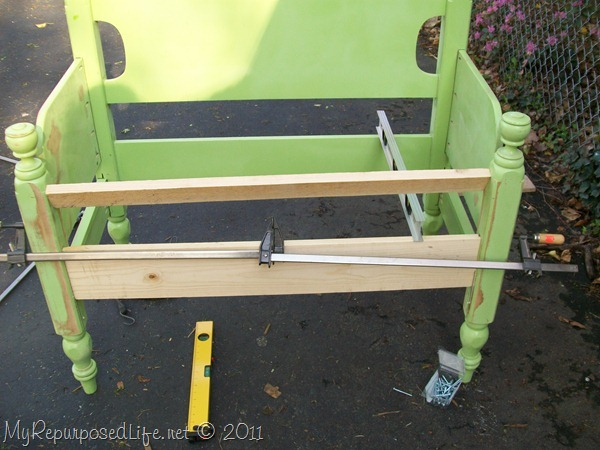 Headboard Bench 27