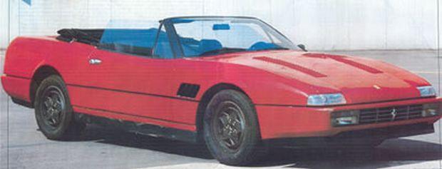 412 Prototipo (Scocca Matta)