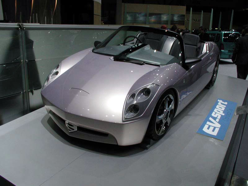 All Types Of Cars >> Suzuki - EV-Sport
