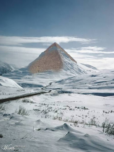 pyramids in snow graphic