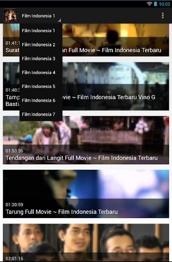 【免費媒體與影片App】Film Indonesia-APP點子