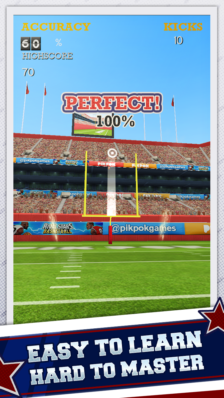 Flick Kick Field Goal screenshot #2