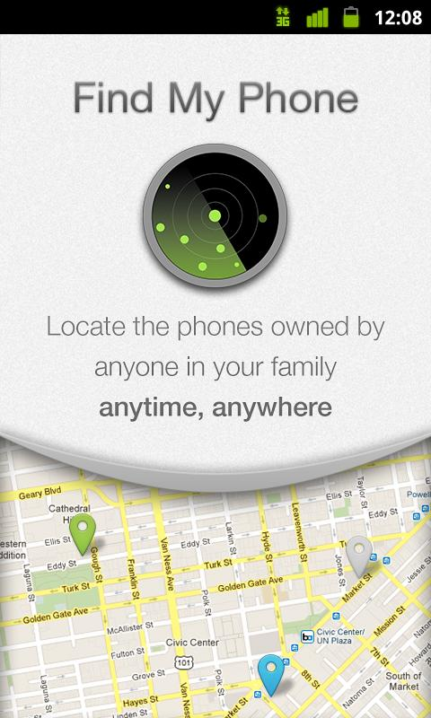 Find My Phone - screenshot