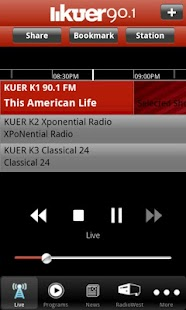 KUER Public Radio App - screenshot thumbnail