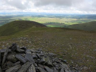 View doen the East Ridge, below main Bowscale summit