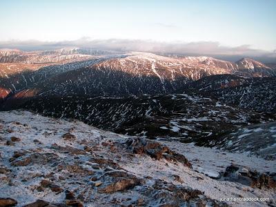 From below Dove Crag, towards Little Hart Crag
