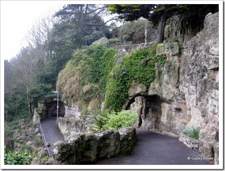 The Zig Zag path at the Leas, Folkestone.
