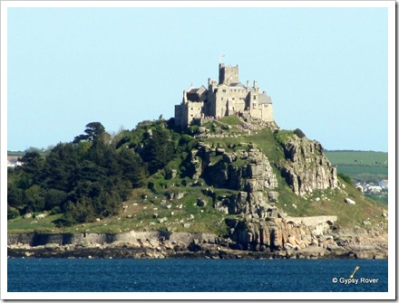St Michael's Mount across the bay from Penzance.