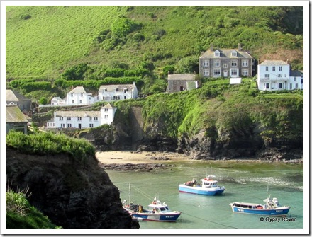 Port Isaac aka Port Wenn. Doc Martins house is the third from the right.